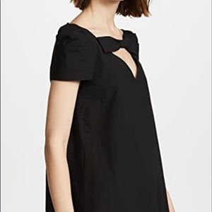 MOSCHINO BOUTIQUE BLACK BOW SWING BLOUSE